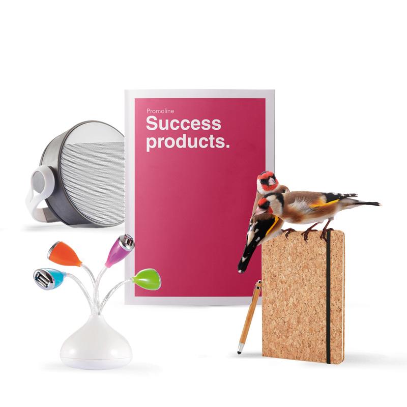 Gadget di design. Speaker, zaino anti-taccheggio, taccuino, tecnologia, USB, torcia