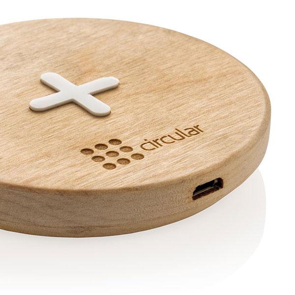 caricatore wireless wood